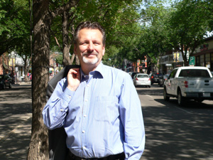 Len on Whyte Avenue